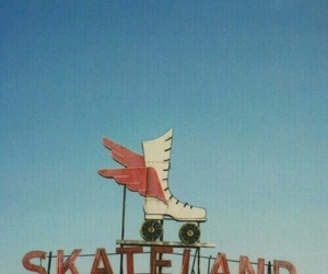 retro, skate, and vintage image