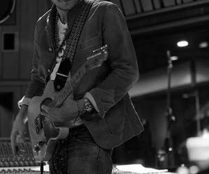 black and white and john mayer image