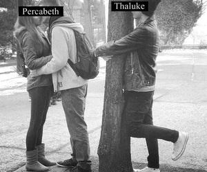 percy jackson, percabeth, and thaluke image