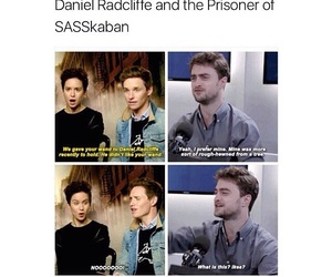 daniel radcliffe, film, and harry potter image