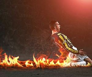 football, netherlands, and robin van persie image