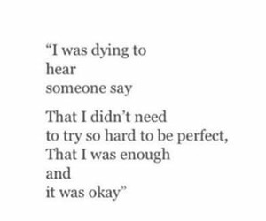 quotes, sad, and perfect image