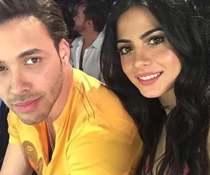 emeraude toubia and prince royce image