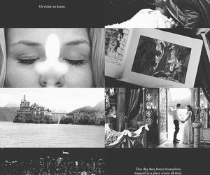 black and white, once upon a time, and emma swan image