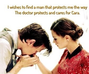 clara, cute couples, and doctor who image