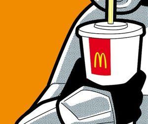 pop art, star wars, and McDonalds image