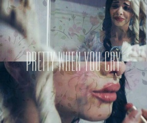 cry baby, pink, and pretty when you cry image