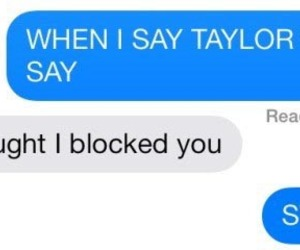 Taylor Swift and 😂 image