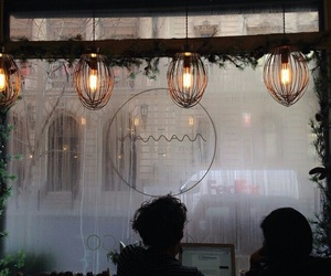 lights, rain, and tumblr image