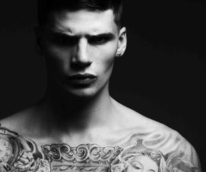 boy, tattoo, and love image