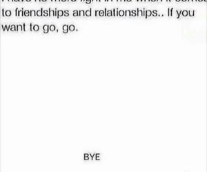 bye, friendship, and Relationship image