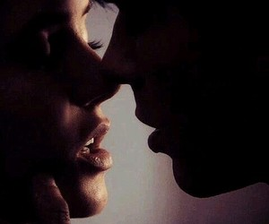 kiss, delena, and the vampire diaries image