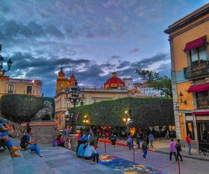 city, downtown, and guanajuato image