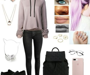 moda, outfits, and Polyvore image