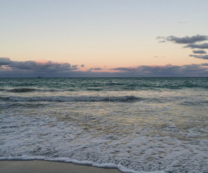 beach, clouds, and indie image