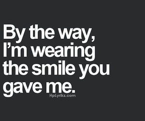 smile, love, and quotes image