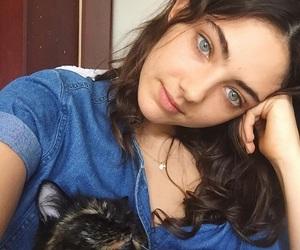 animal, girl, and gorgeous image