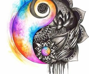 balance, peace, and life image