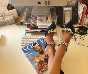 vogue, fashion, and shoes image