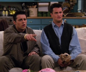 90s, chandler bing, and funny image