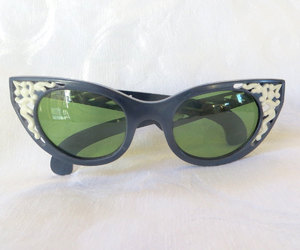 etsy, cat eye sunglasses, and teamlove ecochic image
