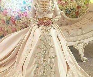caucasus, wedding dress, and chechen image