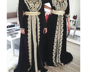 fashion, outfit outfits clothes, and kaftan caftan takchita image
