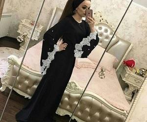 fashion, woman girl, and arab style image