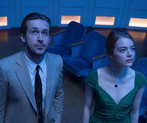 ryan gosling, emma stone, and movie image