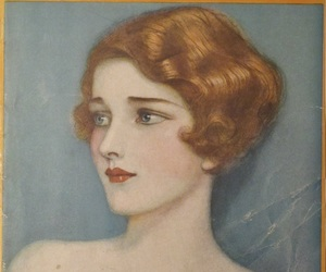1920s, bobbed hair, and 1927 image