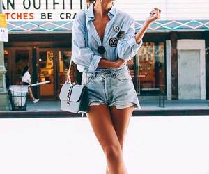 fashion, jeans, and look image
