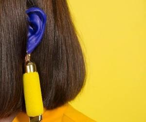 aesthetic, minimalism, and yellow image
