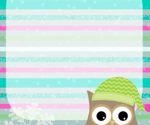 owl, winter, and cute image