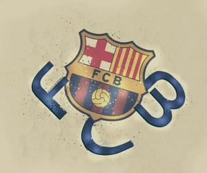 football, spain, and fc barcelona image