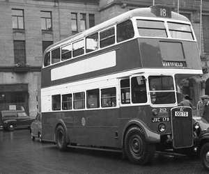 old london bus image