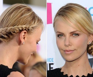 blonde and Charlize Theron image