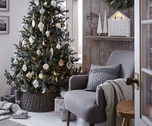 christmas, christmas tree, and decorations image