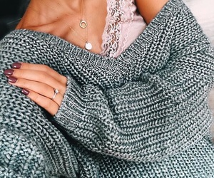 fashion, nails, and outfit image