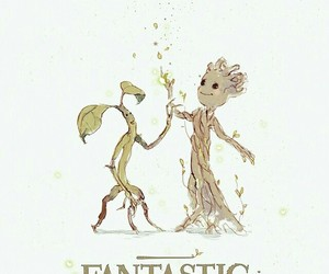 groot, fantastic beasts, and bowtruckle image