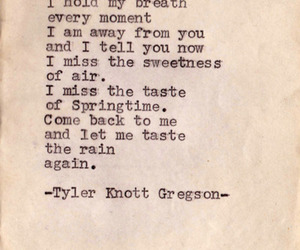 poem, sweet, and tyler knott gregson image