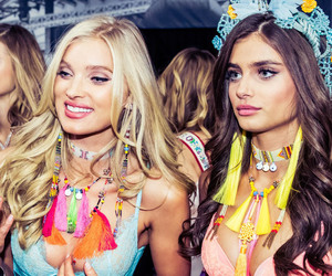 model, elsa hosk, and Victoria's Secret image