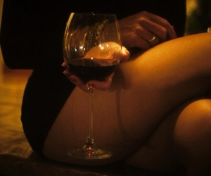 feet and wine image