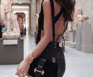 black, cutout, and fashion image