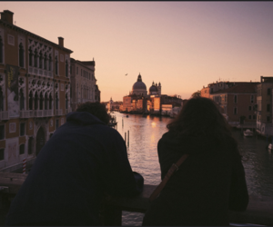 travel, couple, and venice image