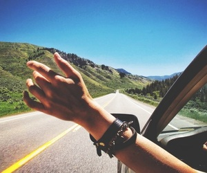 car, freedom, and Road Trip image