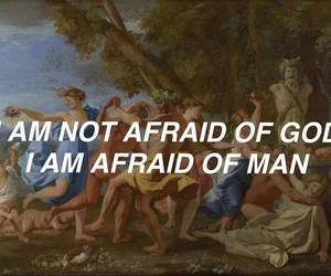 afraid, art, and quote image