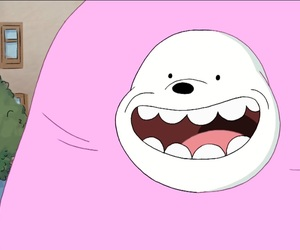 cup cake, ice bear, and smile image
