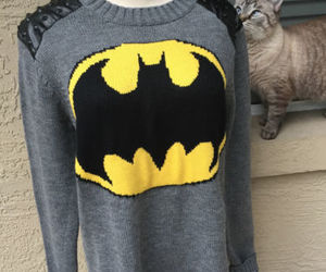 forever 21, gotham girl, and batman sweater image