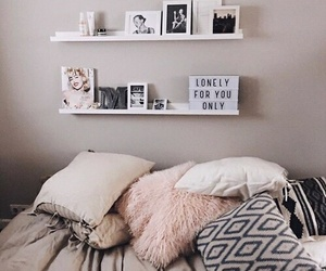 bed, pillow, and bedroom! image