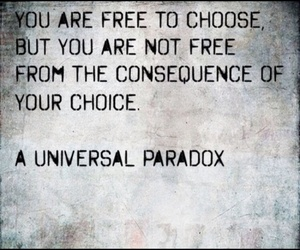choices, consequences, and freedom image